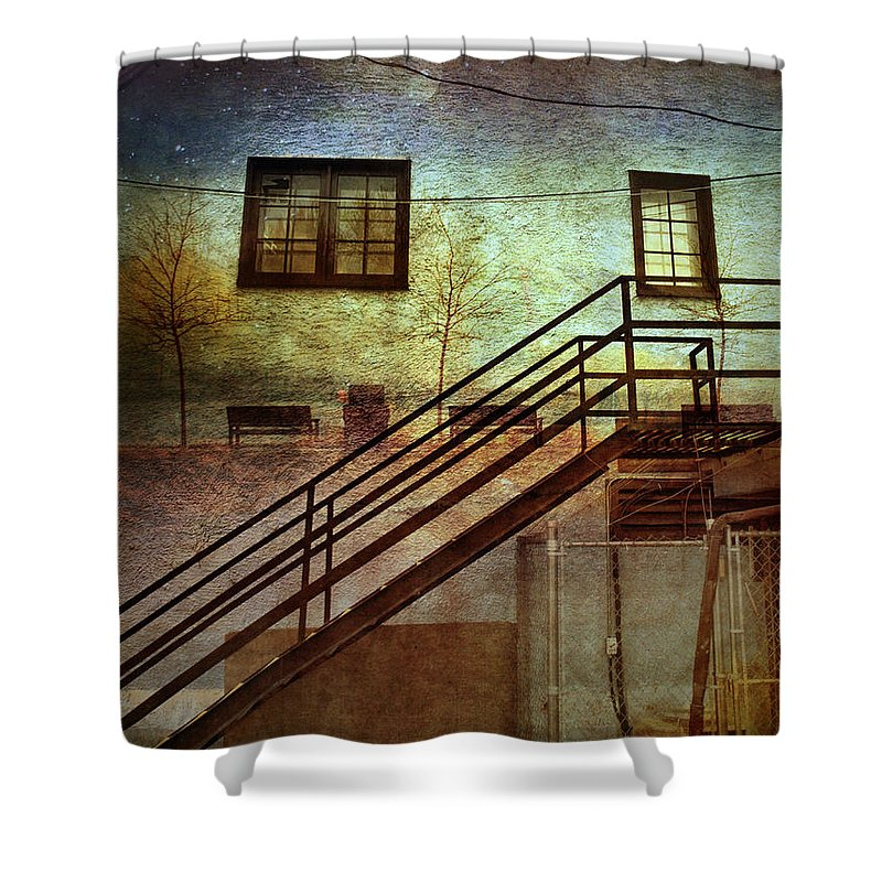 Wall Shower Curtain featuring the photograph Window Seat by Tara Turner