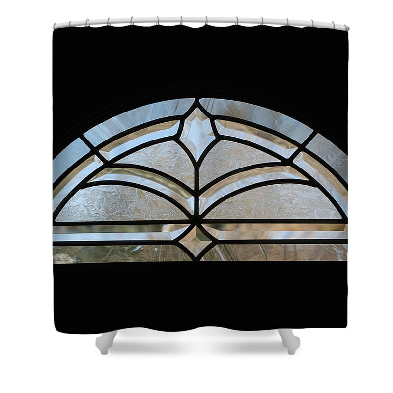 Window Shower Curtain featuring the photograph Window To The World by Rob Hans