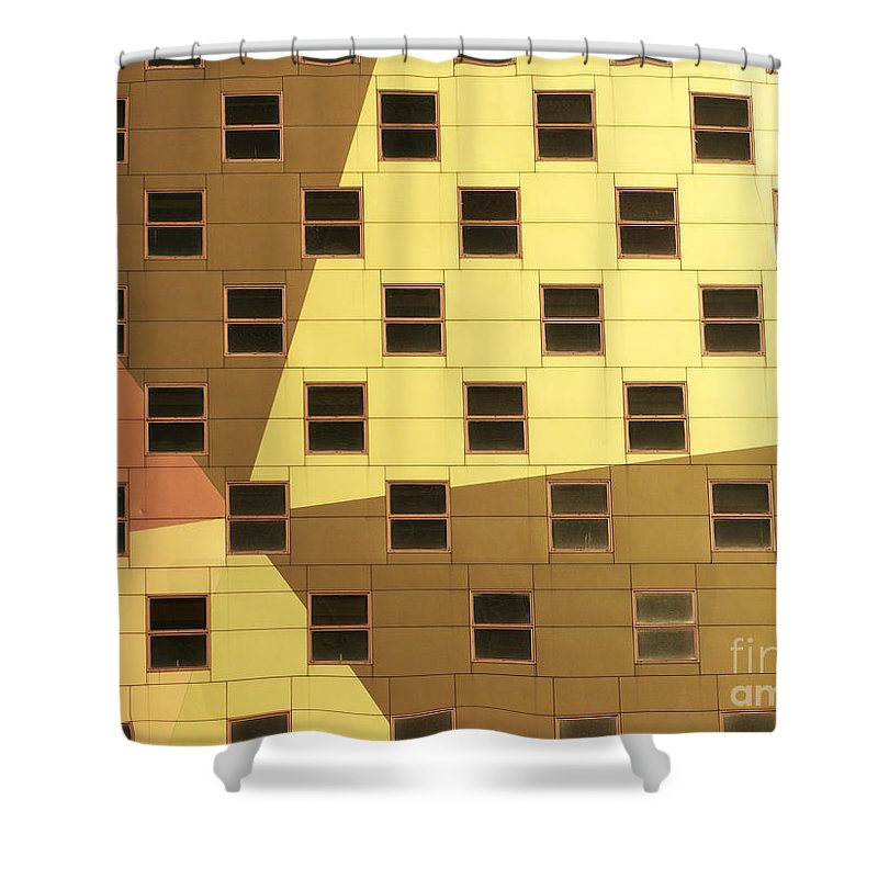 Windows Shower Curtain featuring the photograph Windows by Tony Cordoza
