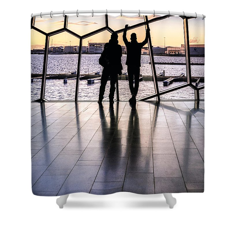 Kremsdorf Shower Curtain featuring the photograph Windowscape by Evelina Kremsdorf
