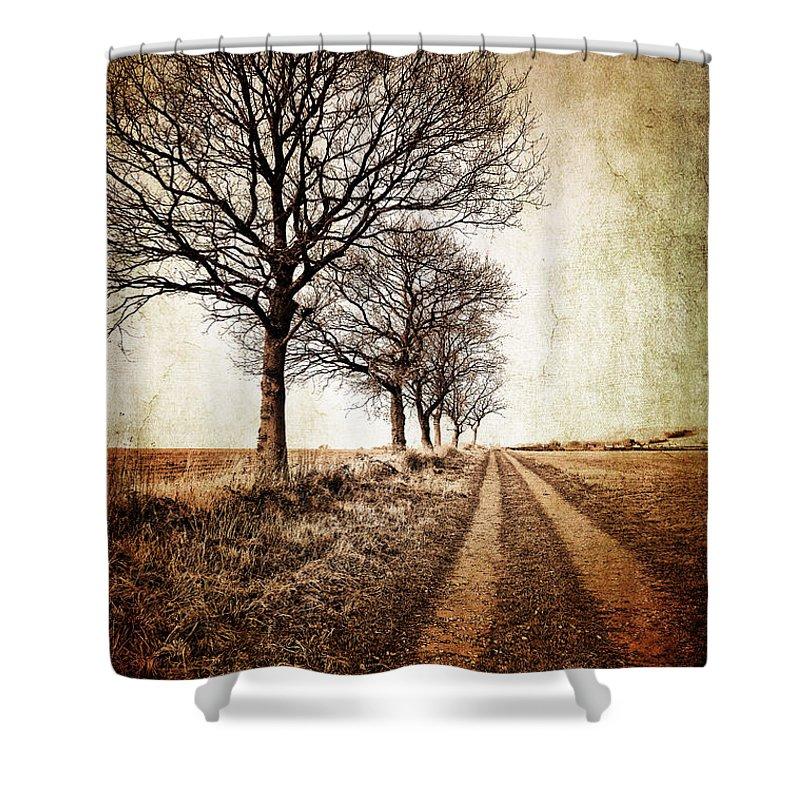Rural Landscape Shower Curtains