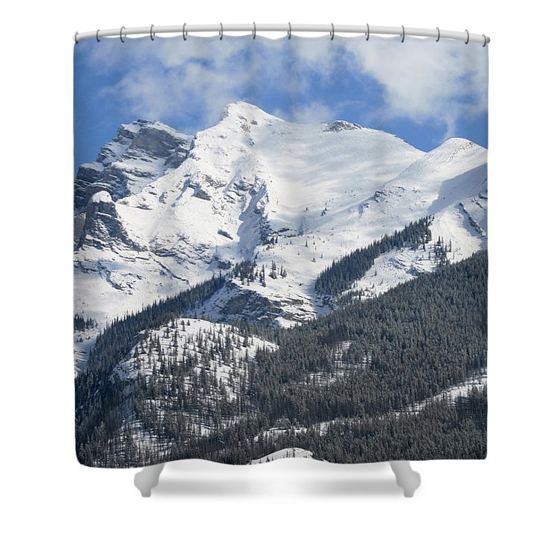 Winter Shower Curtain featuring the photograph Winter Wonderland by Tiffany Vest