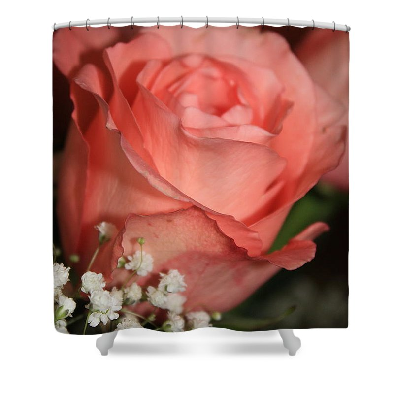 Card Shower Curtain featuring the photograph Wishing You Happiness Card by Carol Groenen