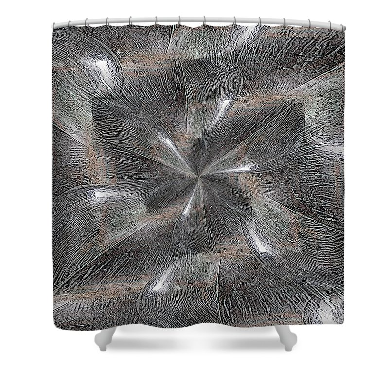Within Shower Curtain featuring the digital art Within Without by Tim Allen