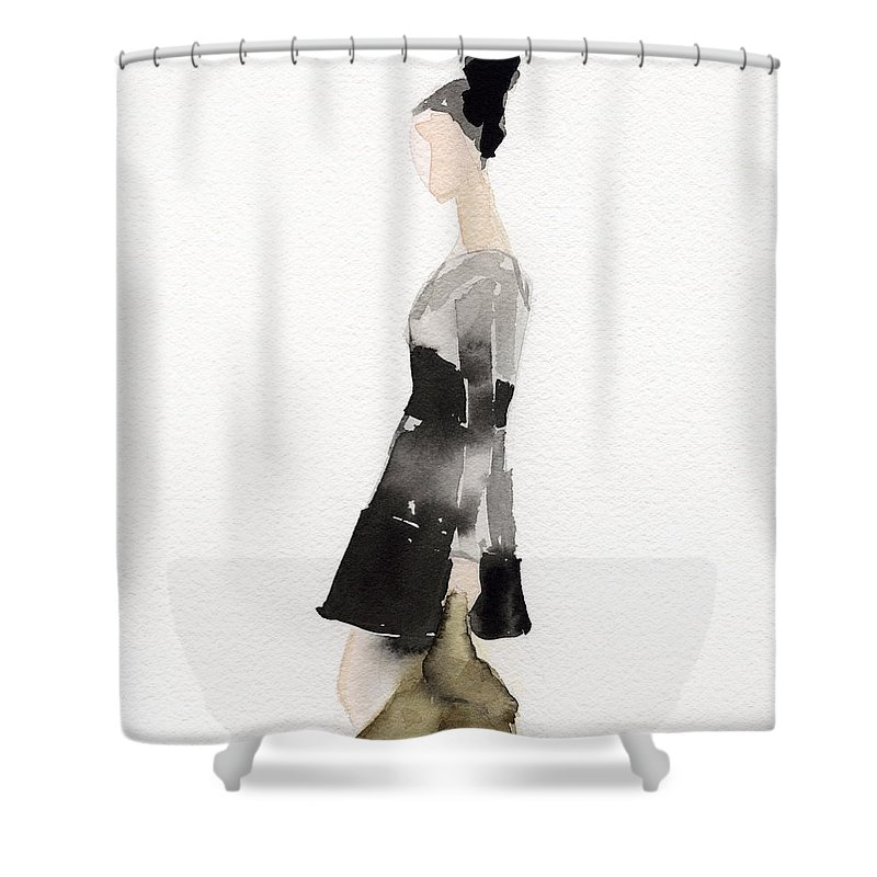 Retro Style Shower Curtains