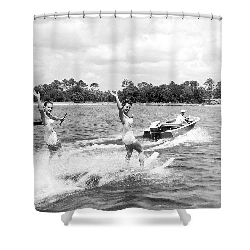Water Ski Shower Curtains