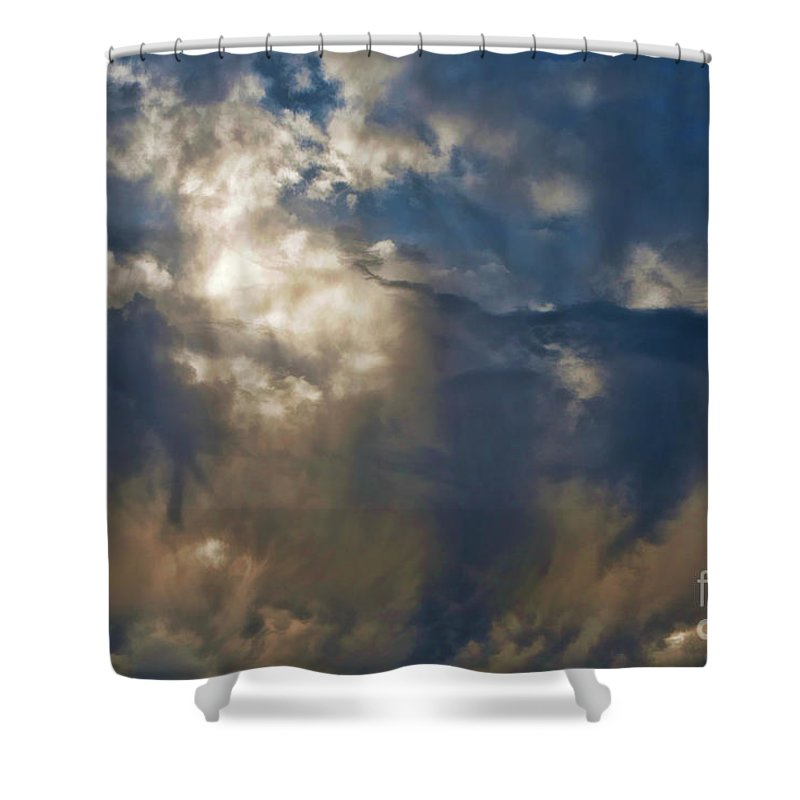 Shower Curtain featuring the photograph Wonderful Day by Blake Richards