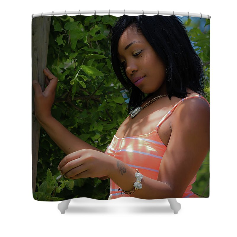 People Shower Curtain featuring the photograph Wonderment by JB Thomas