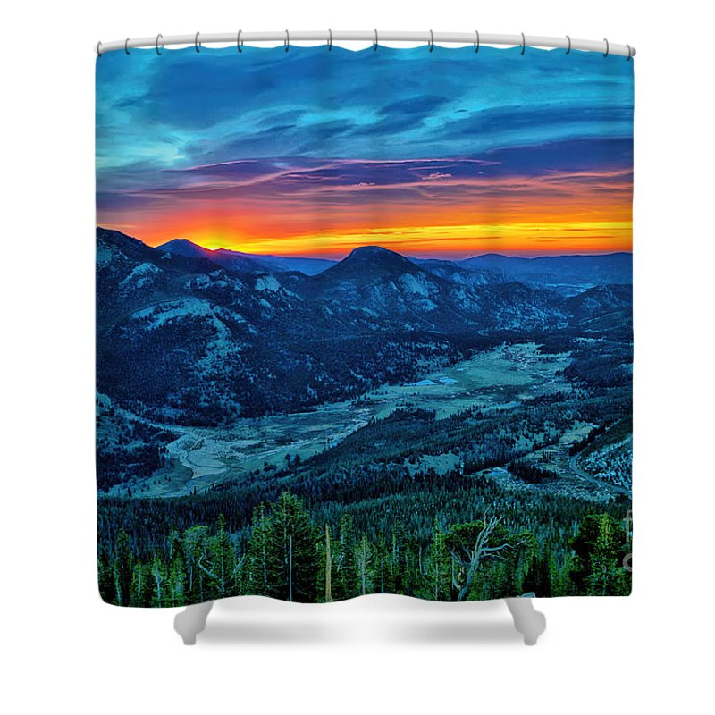 Sunrise Shower Curtain featuring the photograph Wondrous Daybreak by Erika Weber