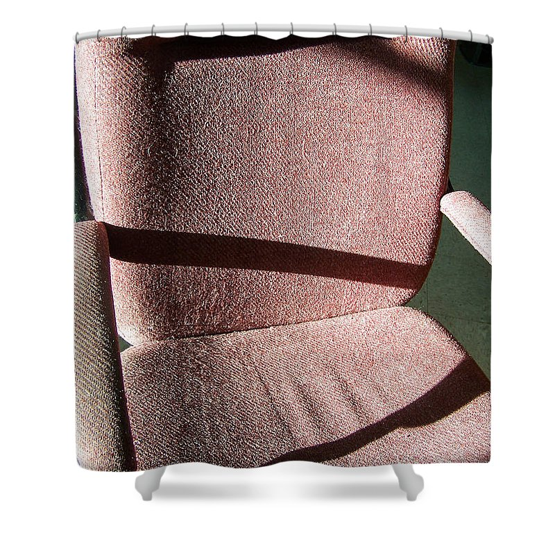 Office Furniture Shower Curtain featuring the photograph Working Late by William Tasker