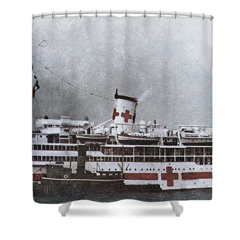 1941 Shower Curtain featuring the photograph World War II: Pearl Harbor by Granger