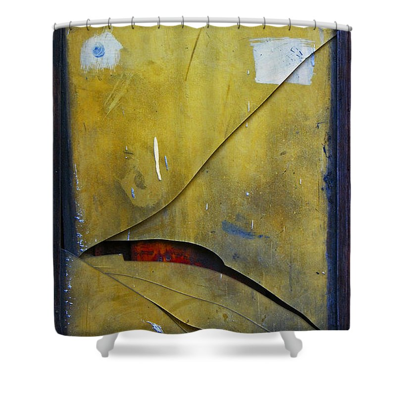 Abstract Shower Curtain featuring the photograph Xalapa Miro by Skip Hunt