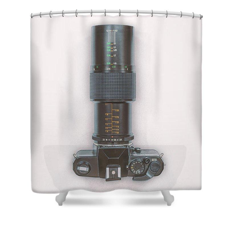 Macro Lens Shower Curtains