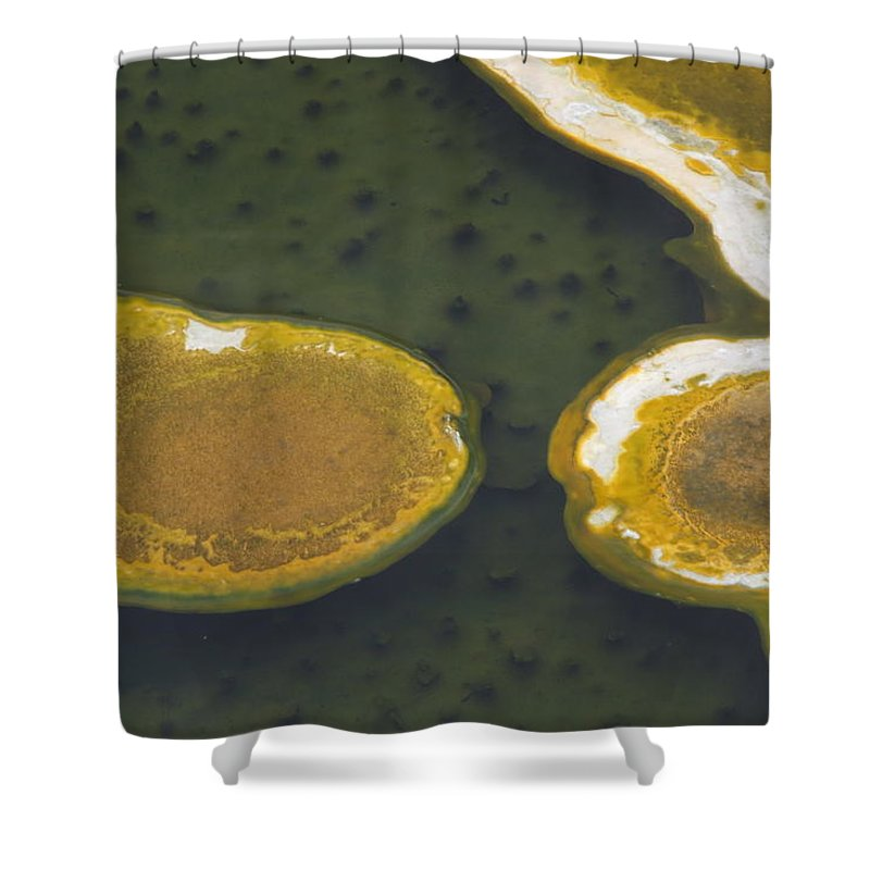 Yellowstone Shower Curtain featuring the photograph Yellowstone #2 by Wade Milne
