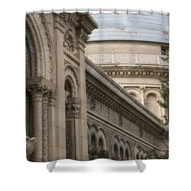Yerkes Shower Curtain featuring the photograph Yerkes Details by David Bearden