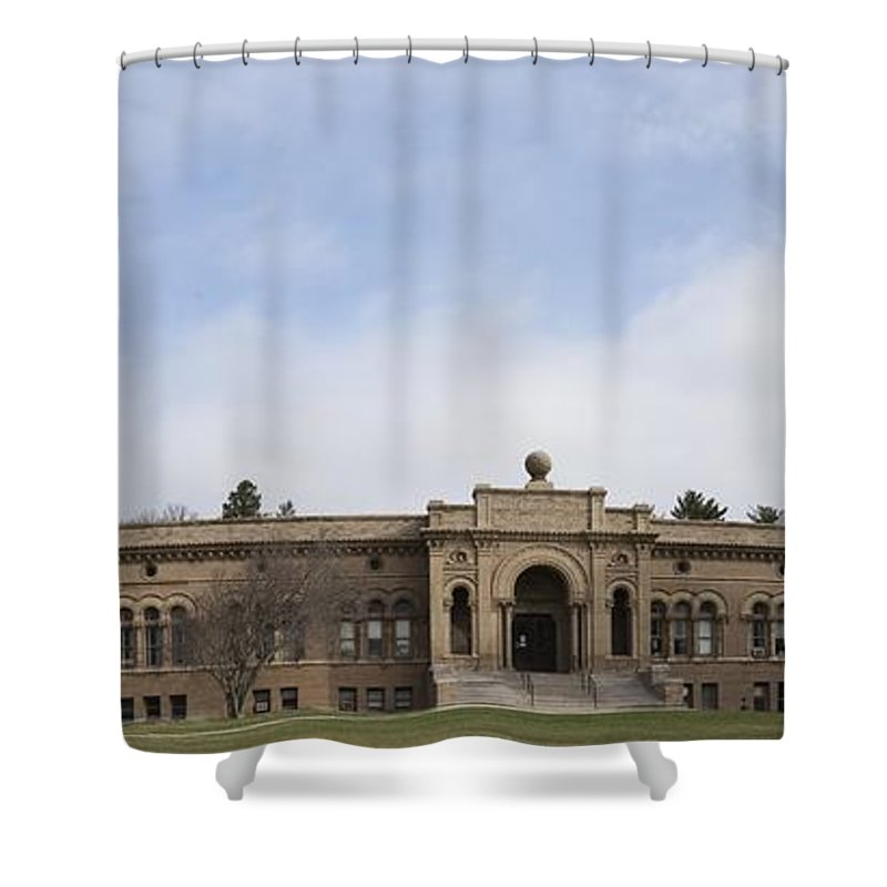 Yerkes Shower Curtain featuring the photograph Yerkes Observatory by David Bearden