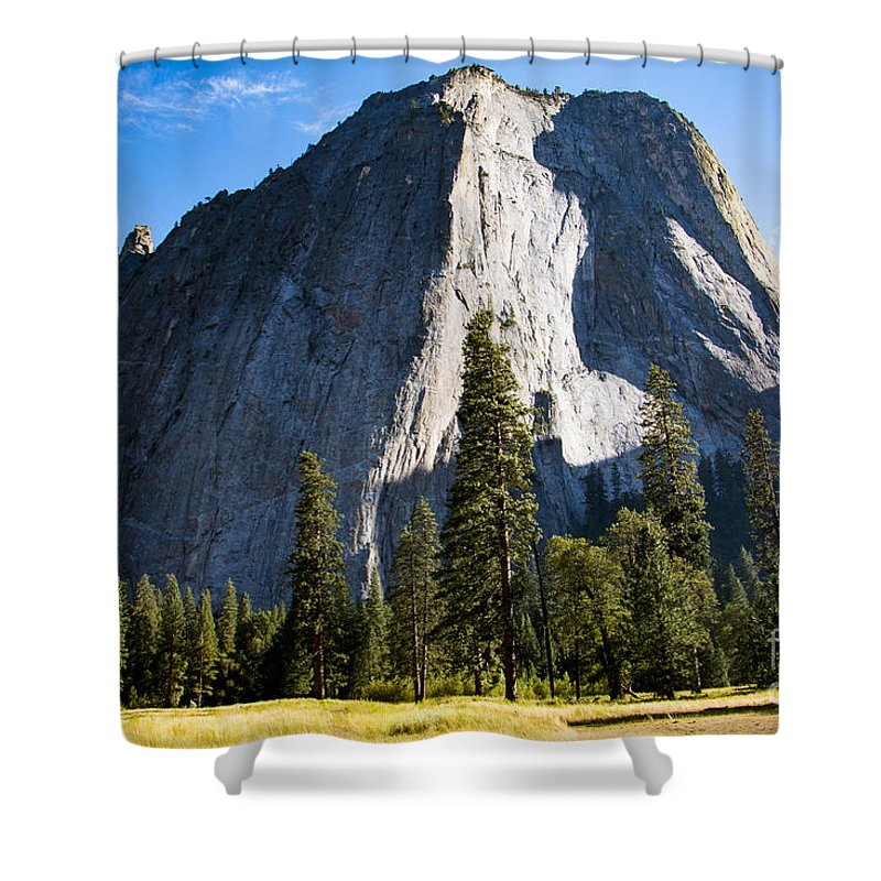 Yosemite Shower Curtain featuring the photograph Yosemite Meadow 2 by Dan Norton