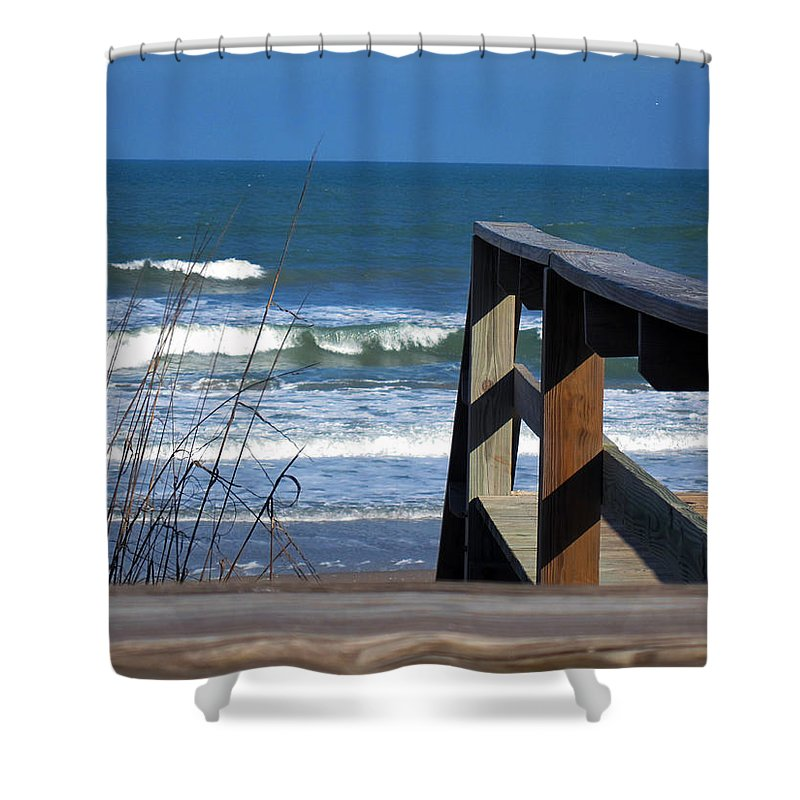 Photography Shower Curtain featuring the photograph You Are Invited by Susanne Van Hulst