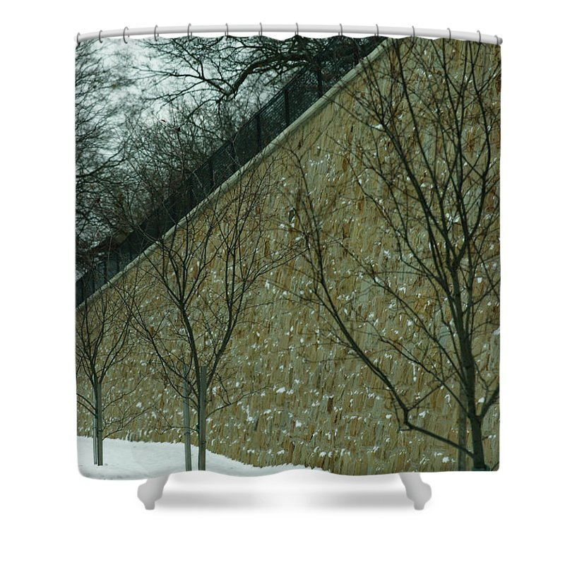 Grand Rapids Shower Curtain featuring the photograph Your Line Of Direction by Linda Shafer