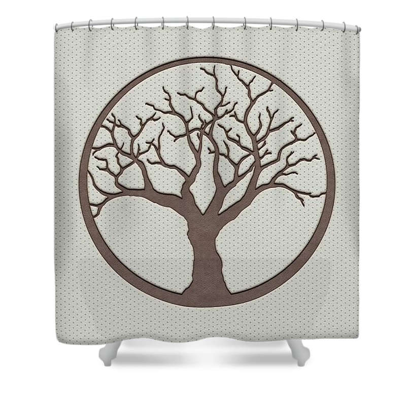 Tree Shower Curtain featuring the digital art Your Tree Of Life by Anton Kalinichev