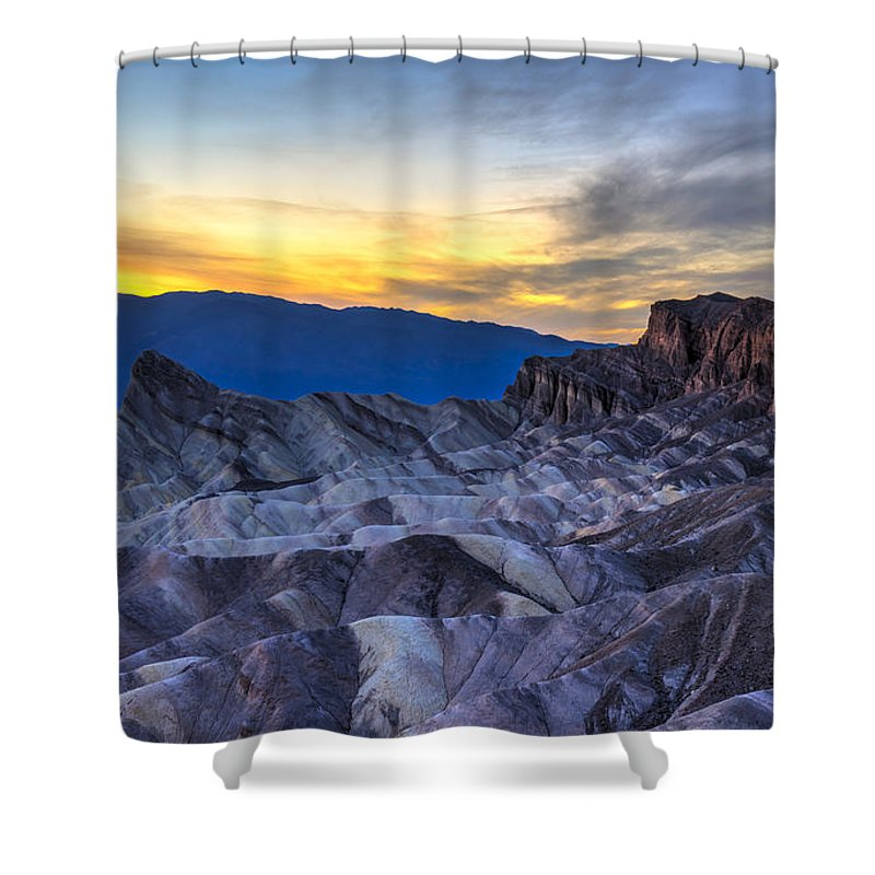 Death Valley Shower Curtains