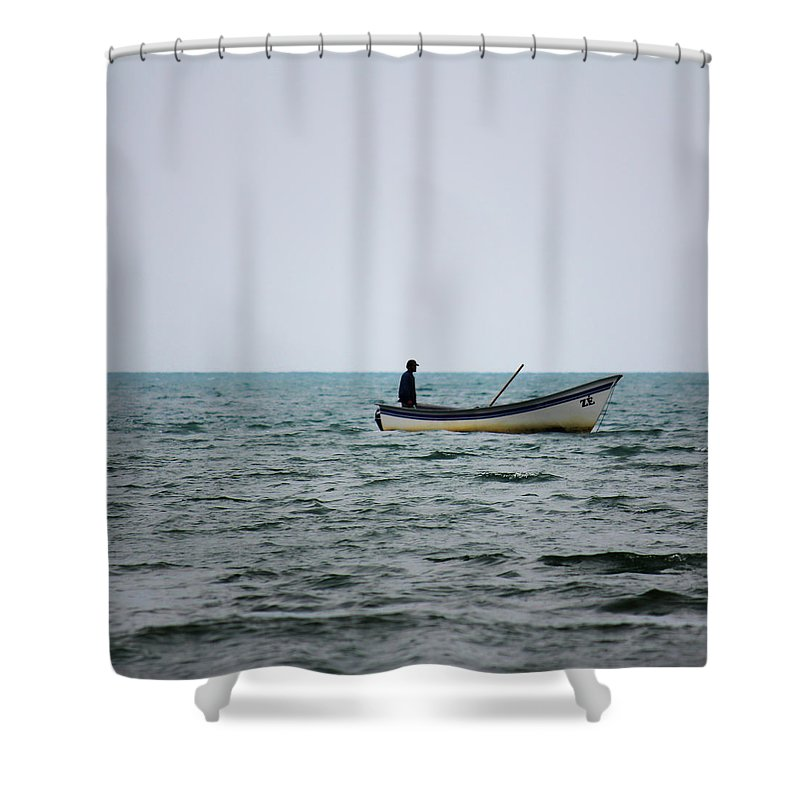 Zé Shower Curtain featuring the photograph Ze by James Conway