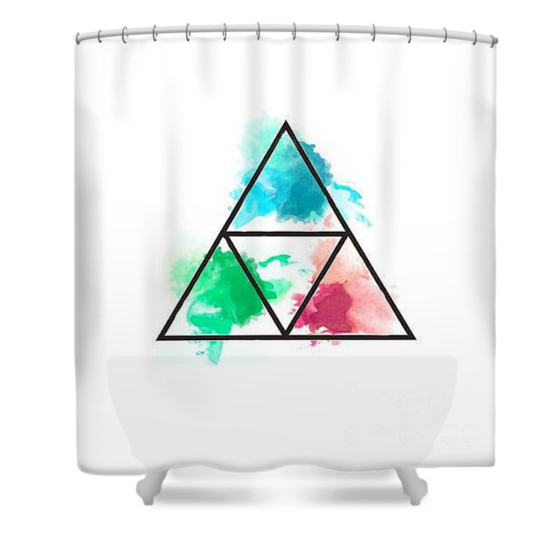 Zelda Triforce Shower Curtain For Sale By Ciaran Ring