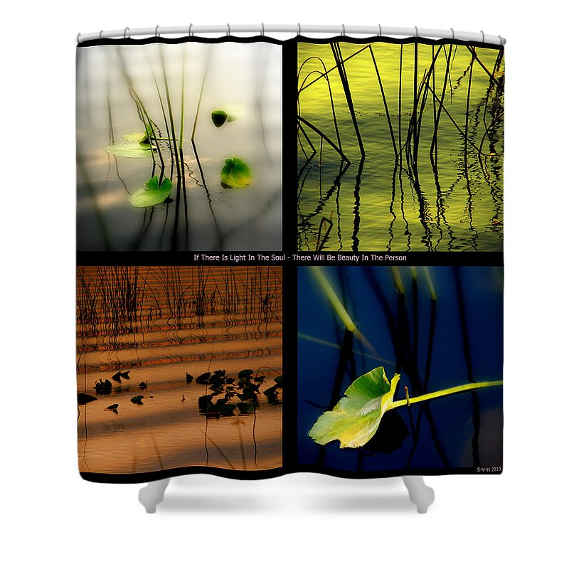 Zen Shower Curtain featuring the photograph Zen For You by Susanne Van Hulst