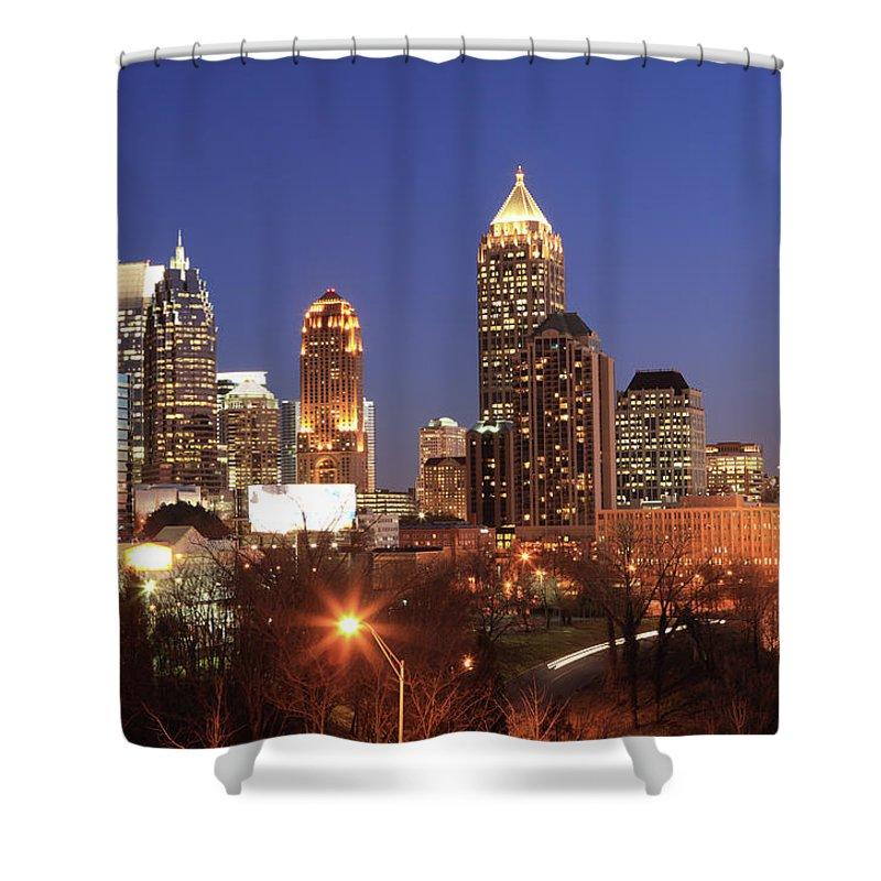 Atlanta Shower Curtain featuring the photograph Atlanta, Georgia by Jumper