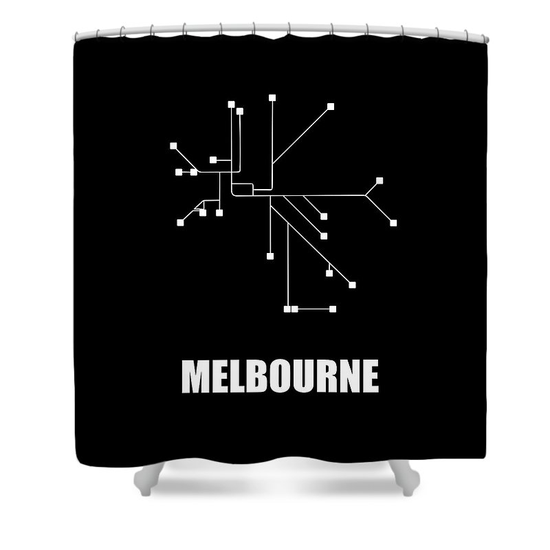 Designs Similar to Melbourne Black Subway Map
