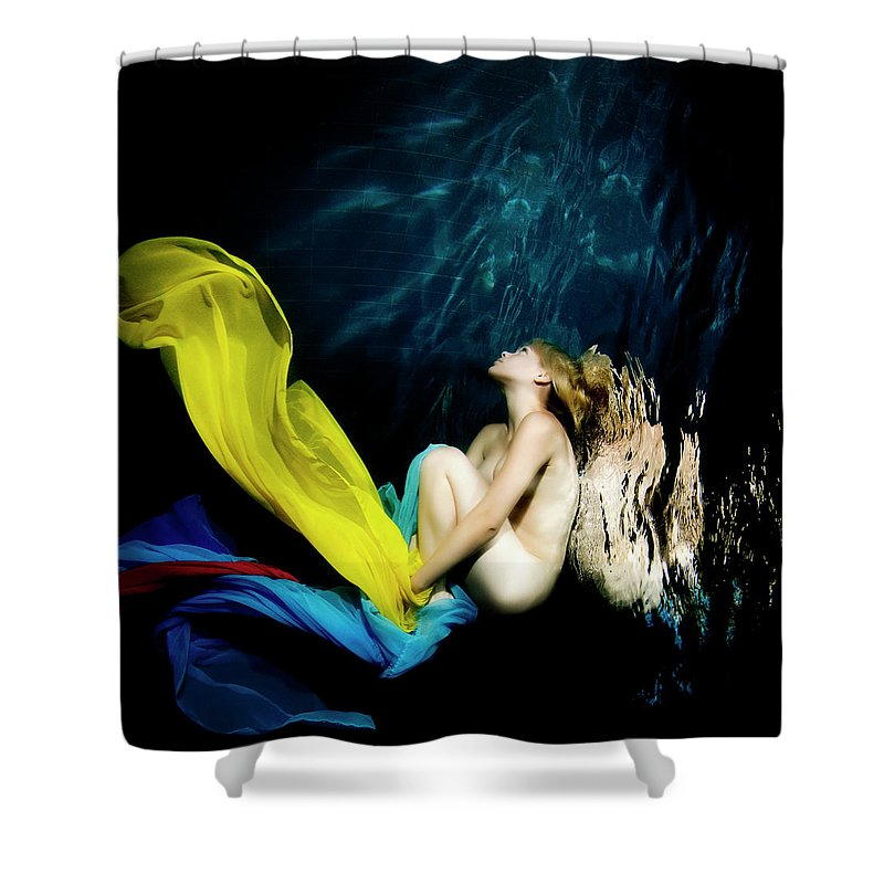 Ballet Dancer Shower Curtain featuring the photograph Nymph by 1001nights