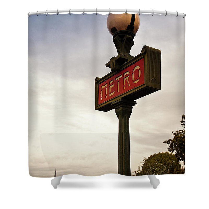 Outdoors Shower Curtain featuring the photograph Paris, France by Buena Vista Images