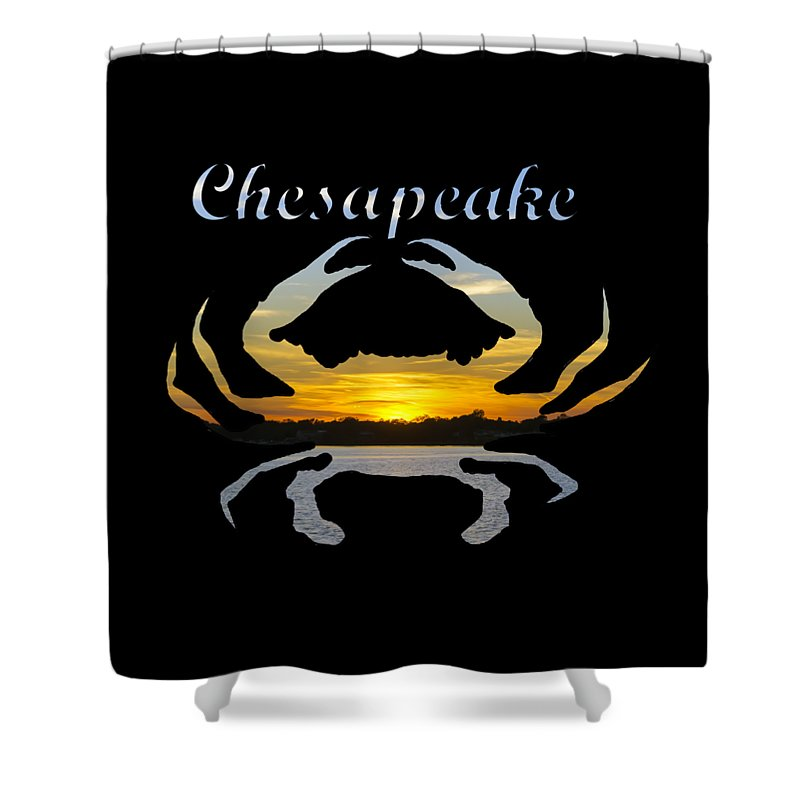 2d Shower Curtain featuring the photograph Chesapeake by Brian Wallace