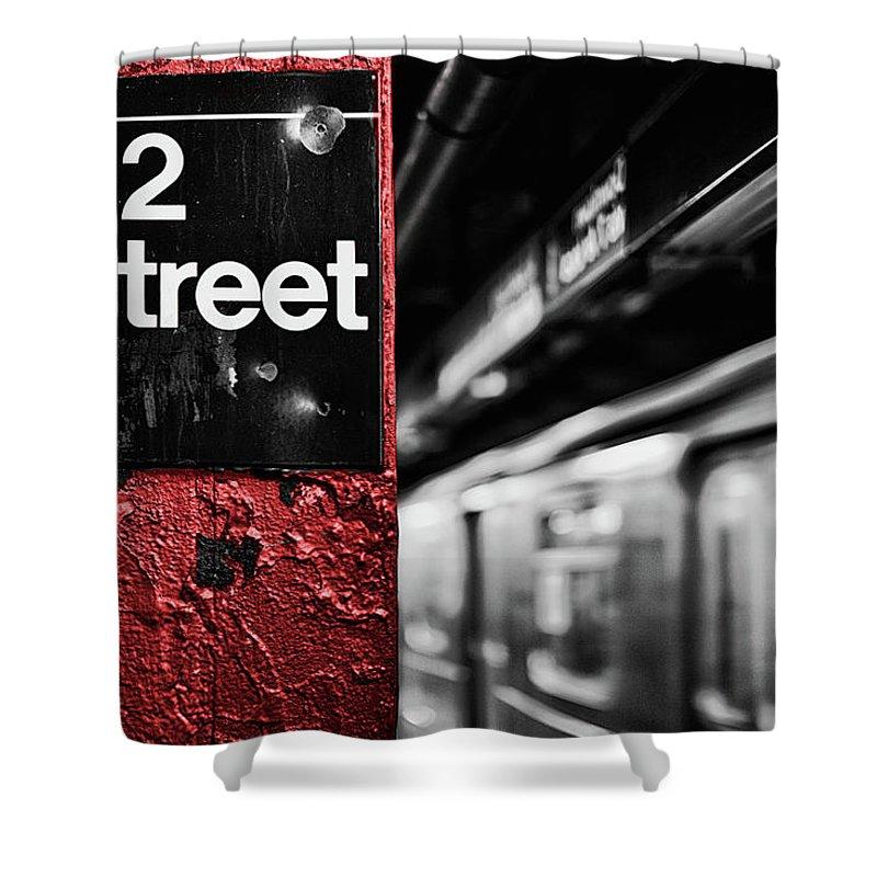 Ny Subway Shower Curtains