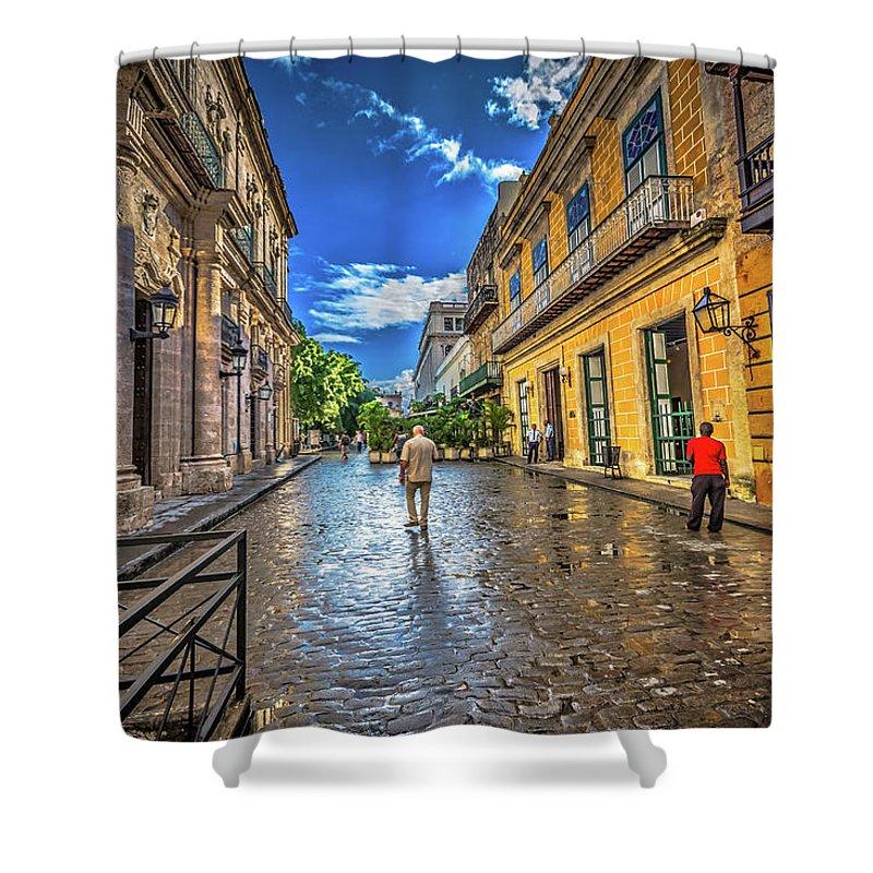 Havana Cuba Shower Curtain featuring the photograph Havana by Bill Howard