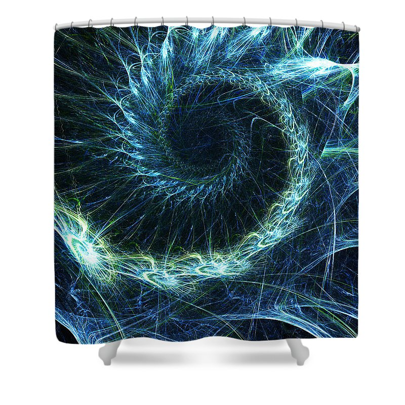 Curve Shower Curtain featuring the photograph Abstract Swirl Pattern by Duncan1890