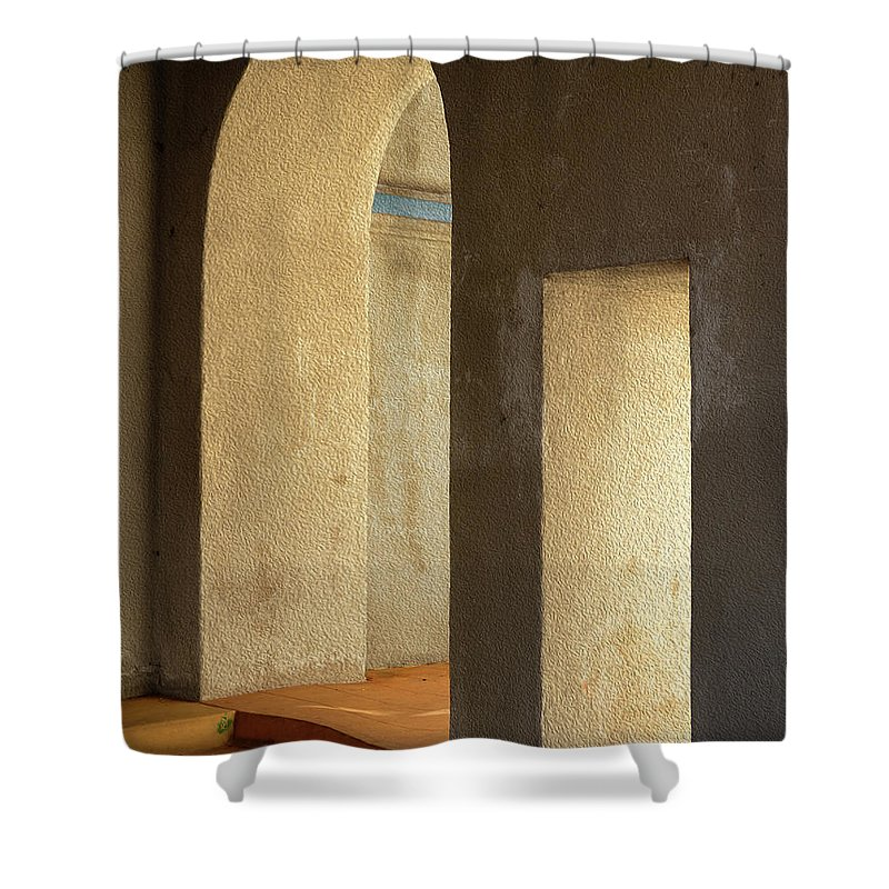 Photography Shower Curtain featuring the photograph Afternoon Sun by Paul Wear