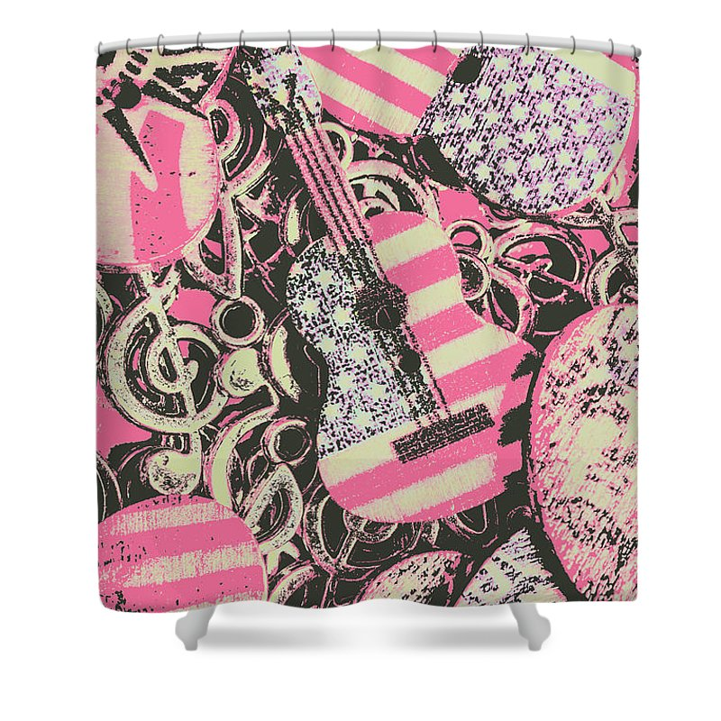 Rock Shower Curtain featuring the photograph Anthems Of America by Jorgo Photography - Wall Art Gallery