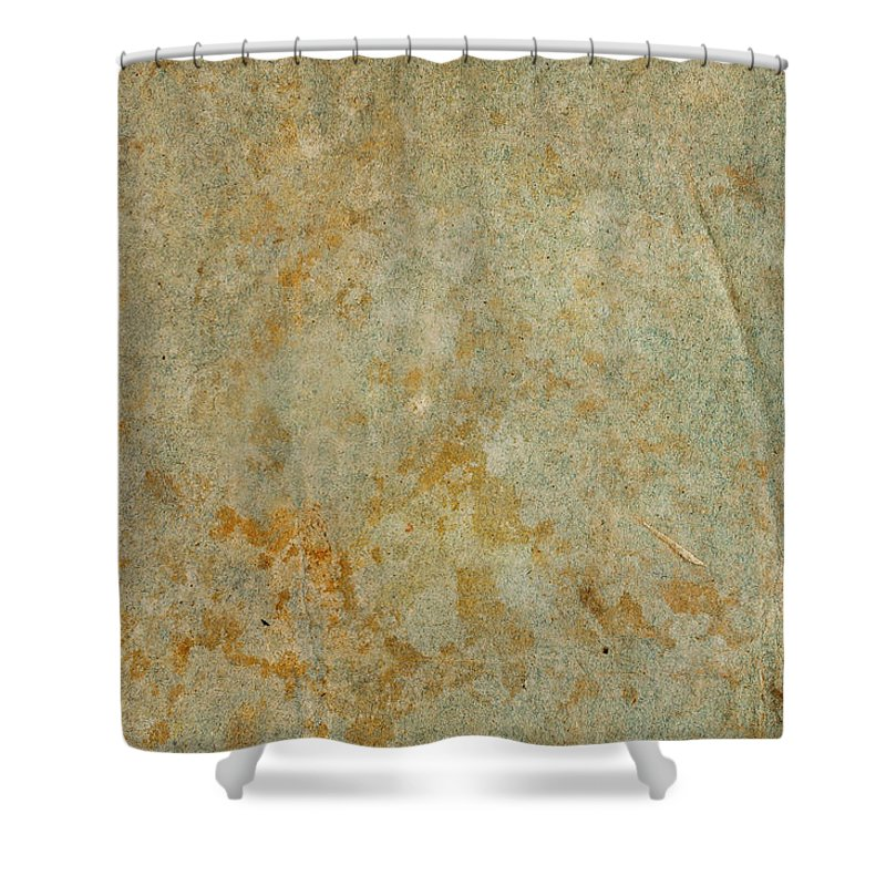 Material Shower Curtain featuring the photograph Antique Paper by Aeduard