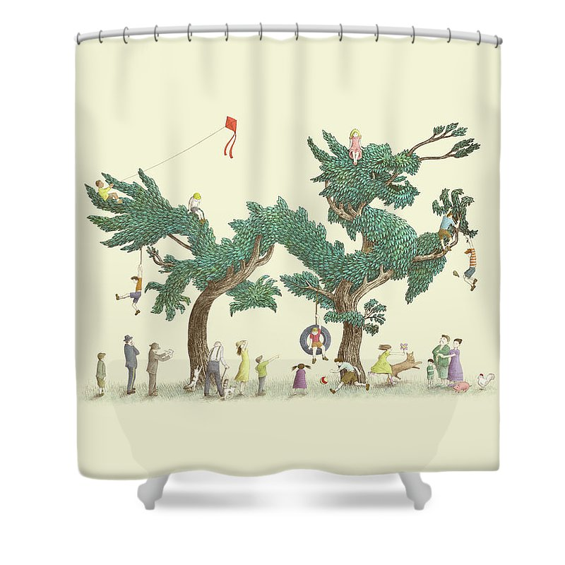 Bonsai Shower Curtains