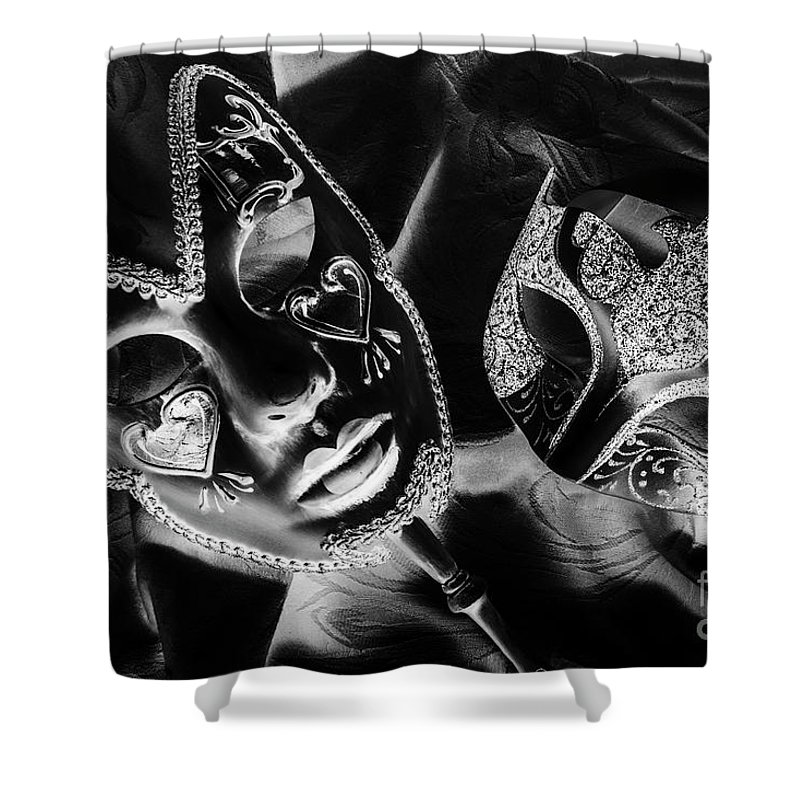 Black Shower Curtain featuring the photograph Before Play by Jorgo Photography - Wall Art Gallery