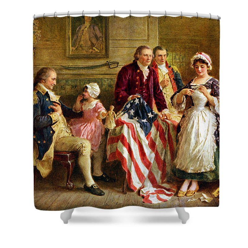 American History Shower Curtains