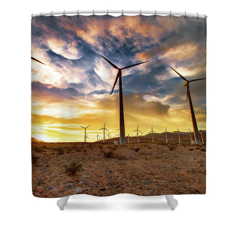Environmental Conservation Shower Curtain featuring the photograph Blowing In The Wind by John B. Mueller Photography