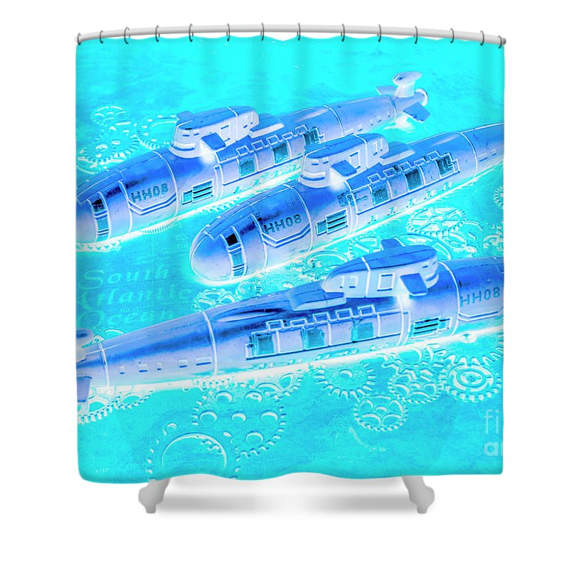 Ww Photographs Shower Curtains
