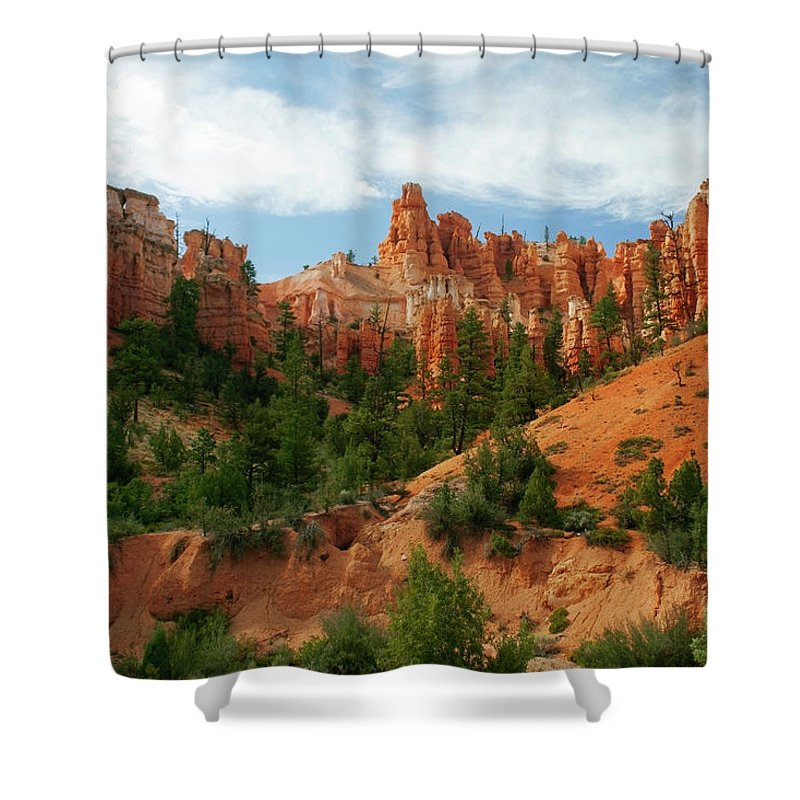Scenics Shower Curtain featuring the photograph Bryce Canyon by Wsfurlan