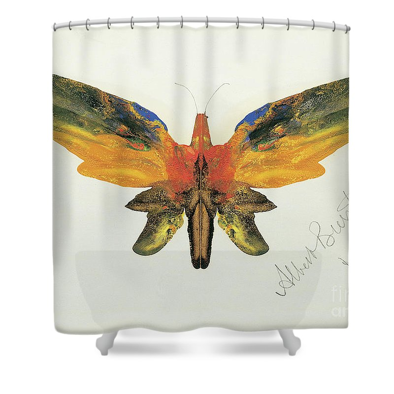 Decalcomania Shower Curtains