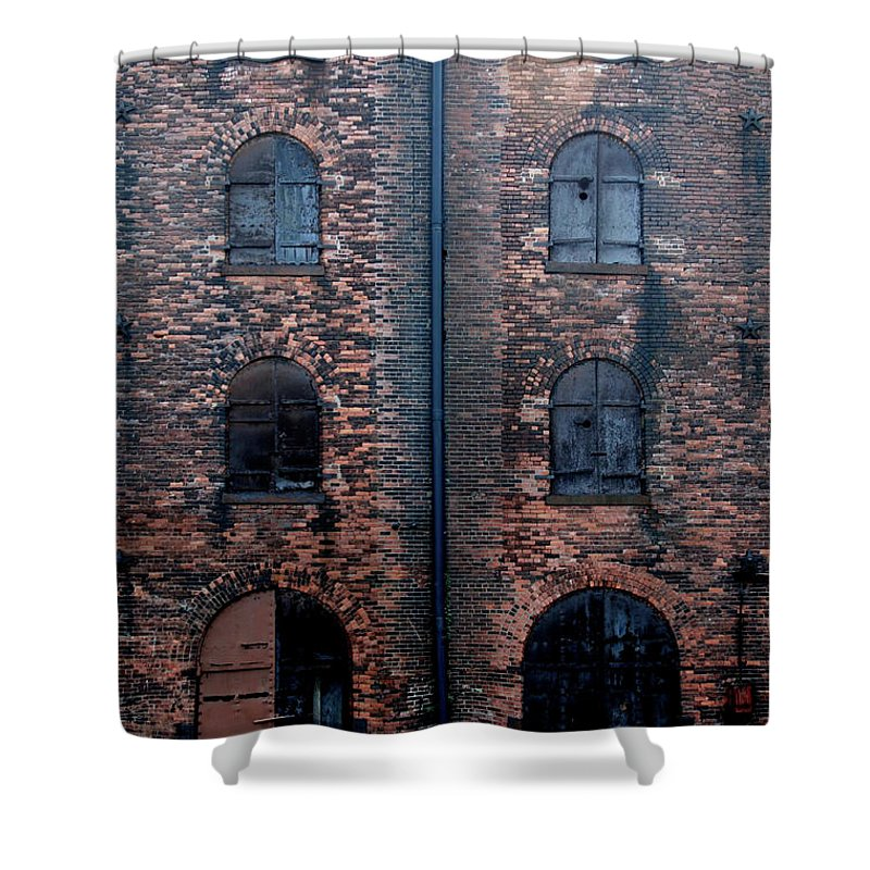 Outdoors Shower Curtain featuring the photograph Civil War Era Spice Warehouse by © Rick Elkins