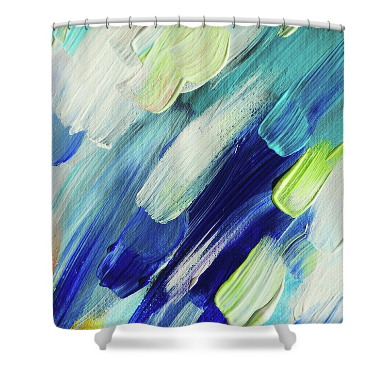 Living Healing Color Therapy - Decolores Shower Curtains