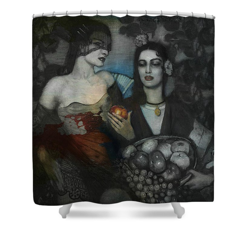 Mixed Emotions Shower Curtains
