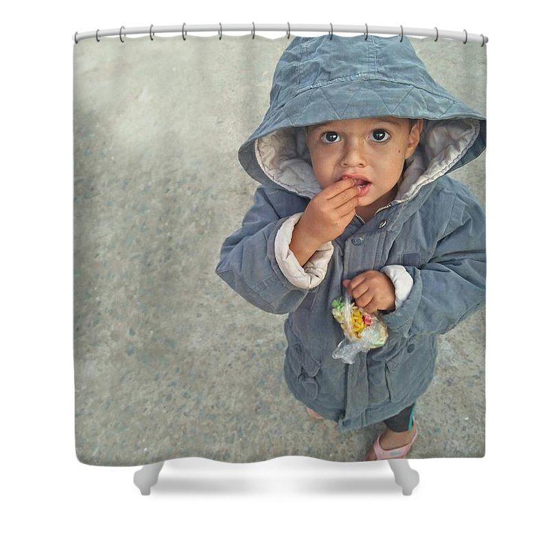 Evening Shower Curtains
